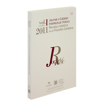 Journal of Catalan Intellectual History - JOCIH 2011