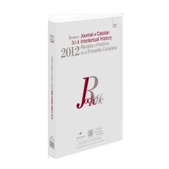 Journal of Catalan Intellectual History - JOCIH 2012